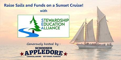 Sunset Cruise Aboard Schooner Appledore with Stewardship Education Alliance tickets