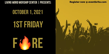 First Friday Fire tickets