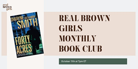Online Event: Oct Book Club: Forty Acres tickets
