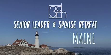 3DM Northeast Senior Leader and Spouse Retreat, Maine tickets