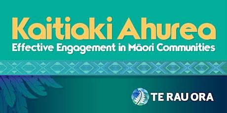 Kaitiaki Ahurea II Online  Wānanga - 11 & 12 Oct 21 tickets