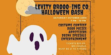 LEVITY BROOO-ING HALLOWEEN BASH tickets