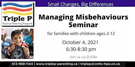 Triple P -Managing Misbehaviour tickets