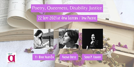 Poetry, Queerness, Disability Justice tickets