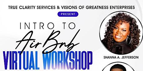 Intro to Air BnB Virtual Workshop tickets