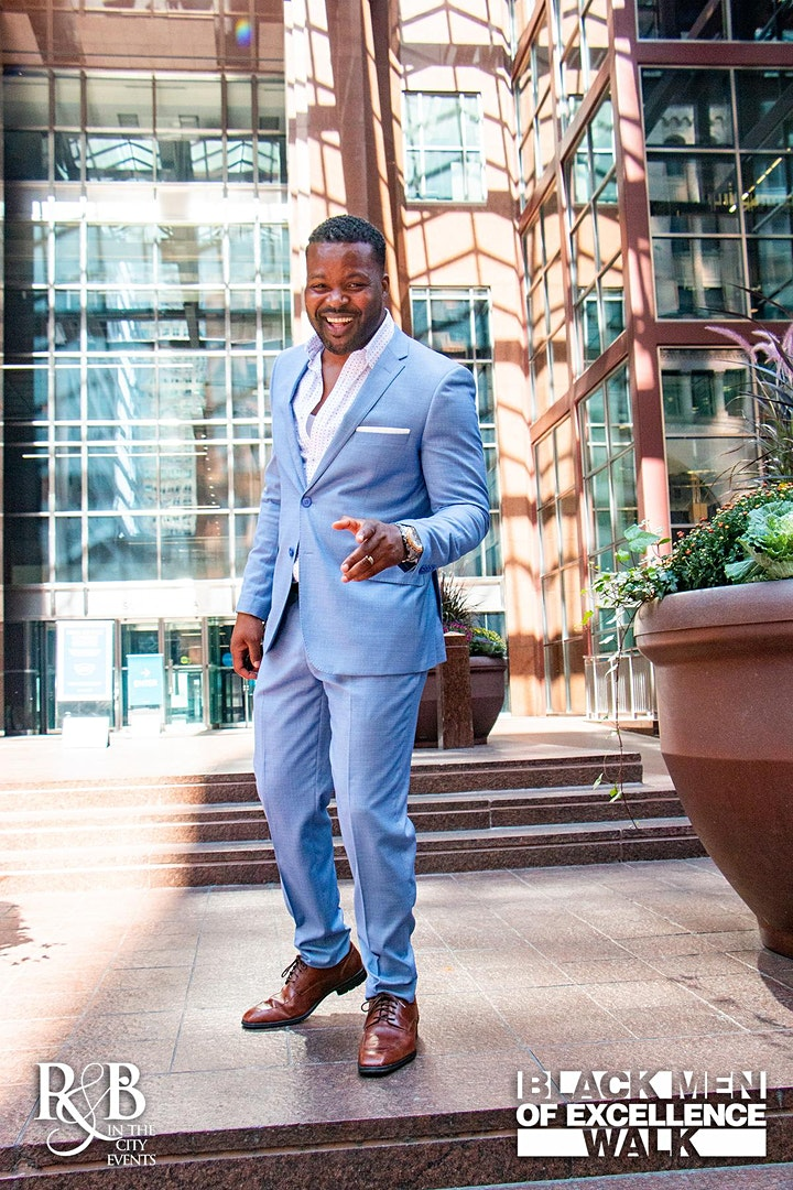 BLACK MEN OF EXCELLENCE SUIT WALK - PHOTO AND VIDEO SHOOT image
