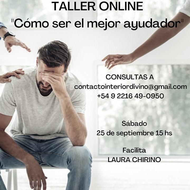 """Imagen de Taller Online """" Cómo ser el mejor ayudador"""""""