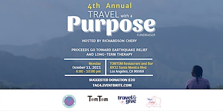 4th Annual Travel With a Purpose Fundraiser tickets