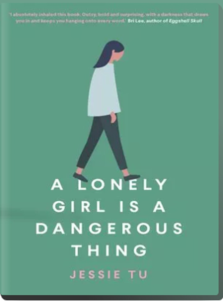 Online Bookclub -  A Lonely girl is a dangerous thing image