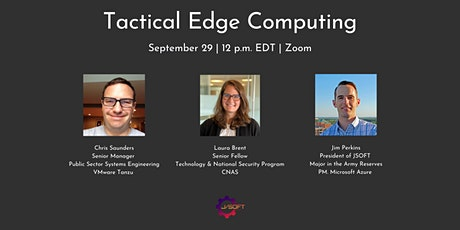 Tactical Edge Computing tickets