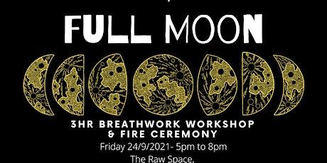 Full Moon Breathwork Workshop tickets