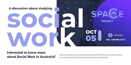 A Discussion about  Studying Social Work tickets