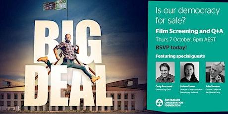 BIG DEAL Screening + Q&A - MELBOURNE tickets