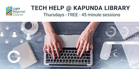 Tech Help @ Kapunda Library tickets