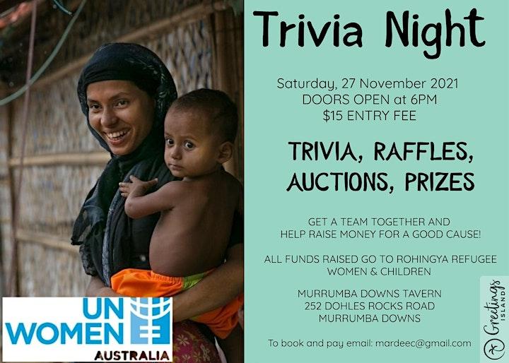 Fundraising Trivia Night image
