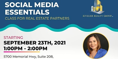 Social Media Essentials Class for Real Estate Partners tickets