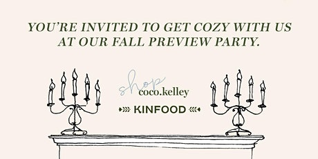Kinfood Fall Wine Tasting & Six Stories Curation Preview Party tickets