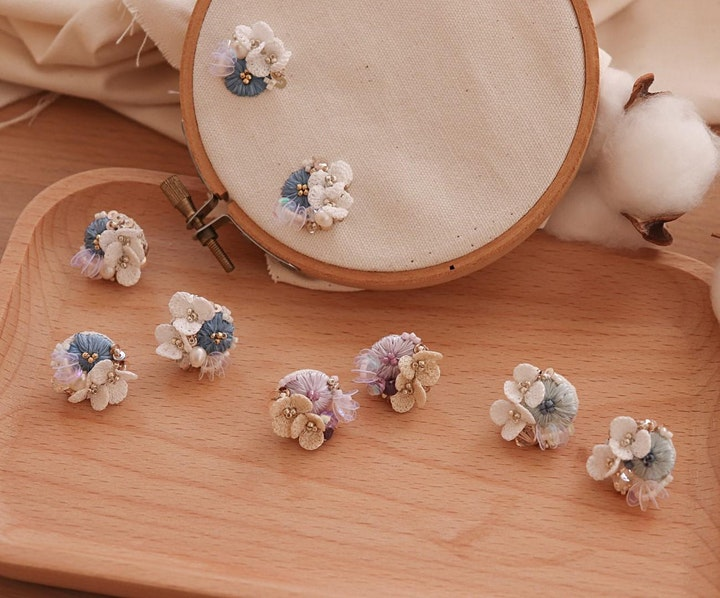 Pro Series: Jewellery Design (Miniature Floral Crochet)   library@orchard image