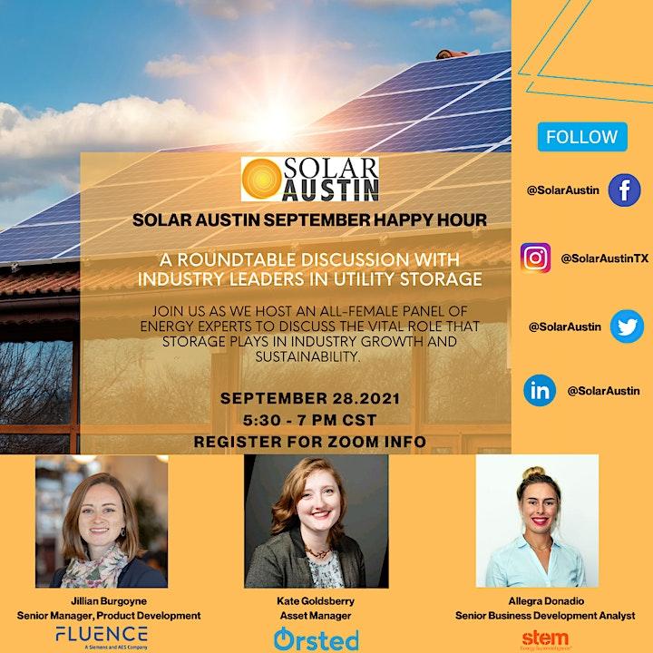 Solar Austin - Women Leaders In Utility Storage image