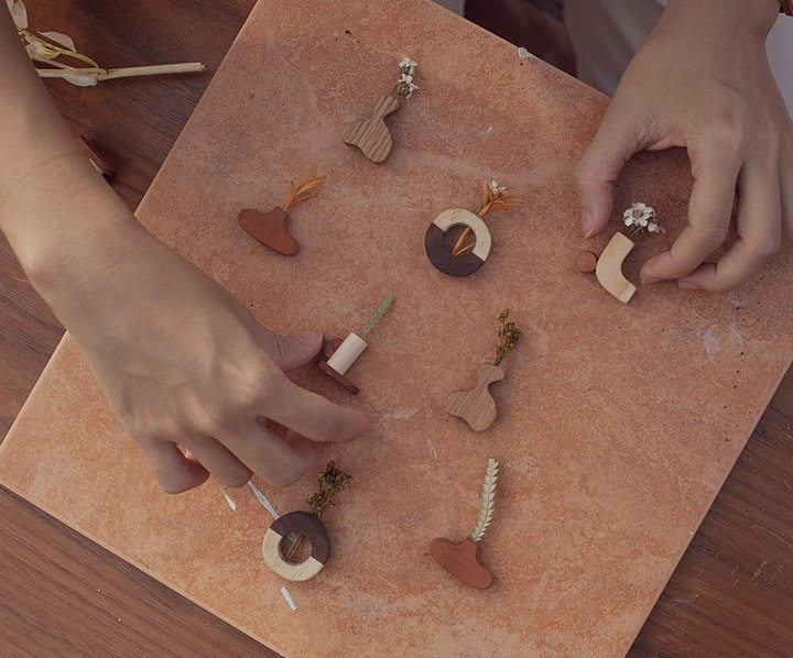 Pro Series: Jewellery Design (Sustainable Wood Jewellery)   library@orchard image