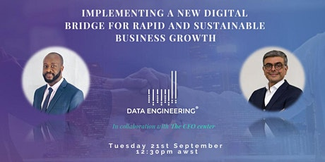 Implementing a new digital bridge for rapid and sustainable business growth tickets