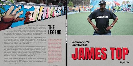African Voices Hosts  Art & Book Celebration for Graffiti Legend Jamestop tickets