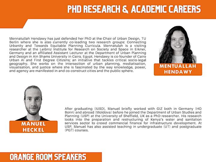 What's Next? Urban Career Exploration & Exchange Seminar image