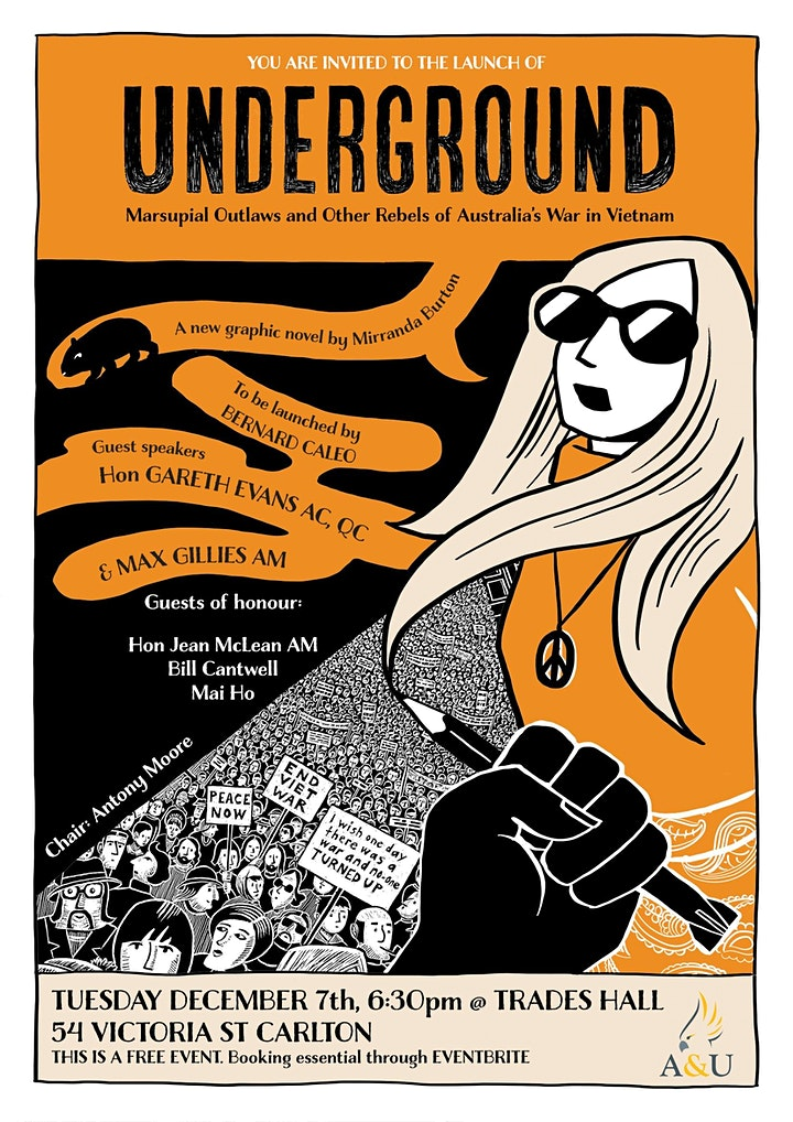 UNDERGROUND: The launch of a new graphic novel image