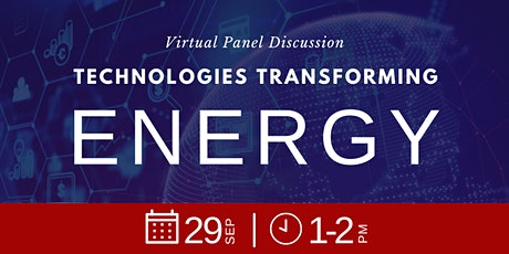 Technologies Transforming Energy tickets