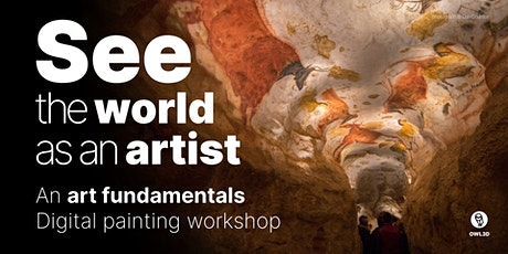 See the World as an Artist - Digital painting workshop tickets