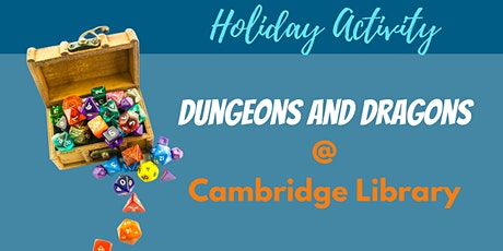 School Holiday Activity: Dungeons & Dragons tickets