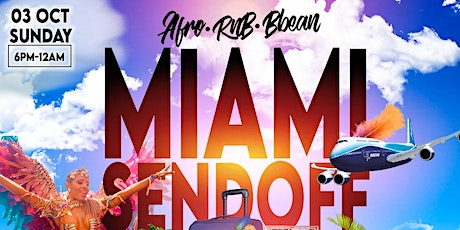 AFRO-R&B-BBEAN Miami Carnival Sendoff RoofTop Sunset Day Party tickets