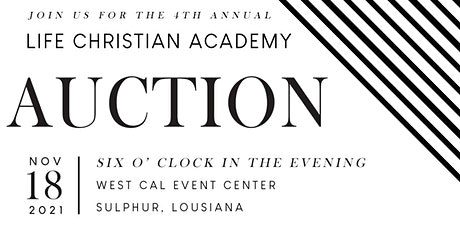 LCA Fourth Annual Auction Fundraiser tickets
