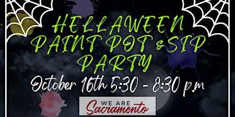 Hellaween Paint Pot & Sip Party tickets