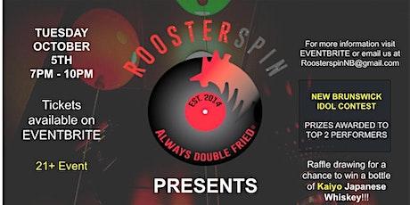 ROOSTERSPIN: NEW BRUNSWICK INDUSTRY KARAOKE PARTY tickets
