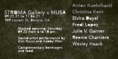 STROMA x MUSA Group Exhibition Opening tickets