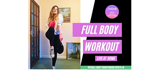 Body Conditioning session with Instructor Katie-Marie tickets