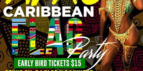 Afro-Caribbean flag party tickets