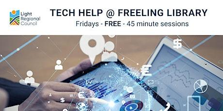 Tech Help @ Freeling Library tickets