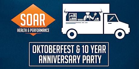 SOAR Oktoberfest/10 year Anniversary tickets