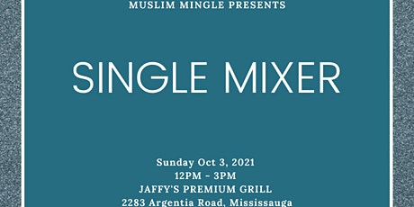 LIVE EVENT - SINGLE MIXER BY MUSLIM MINGLE  - AGE  GROUP: 24-34 tickets