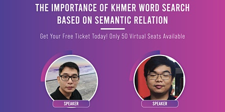 The Importance of Khmer Word  Search Based On Semantic Relation tickets