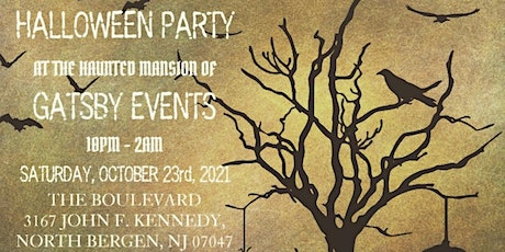 Gatsby events Halloween Party tickets