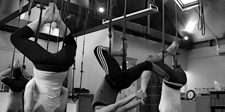 Spring 2021 lunchtime  6-week Intro to Aerial Yoga Course tickets