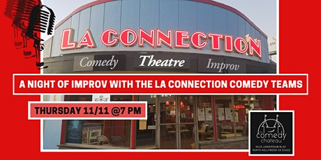 A Night of IMPROV with the LA Connection Comedy Teams tickets