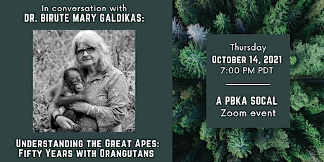 In Conversation with Dr. Birute Mary Galdikas tickets