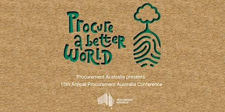 "Procurement Australia – ""Procure a Better World""  Conference tickets"