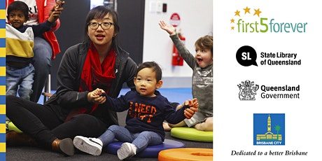 First 5 Forever toddler time - Toowong Library tickets