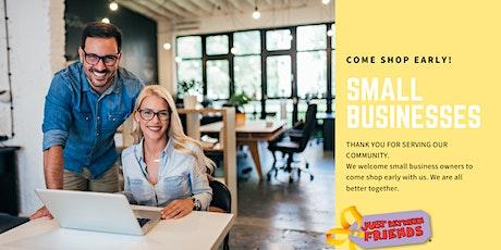 JBF Small Business Presale tickets