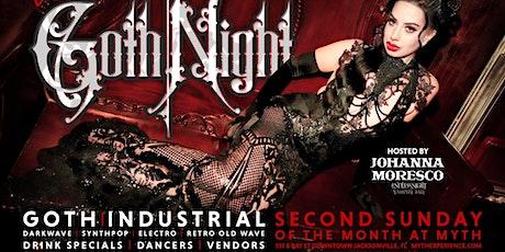 "2nd Sunday Sanctuary Presents ""Goth Night"" at Myth Nightclub | 10.10.21 tickets"